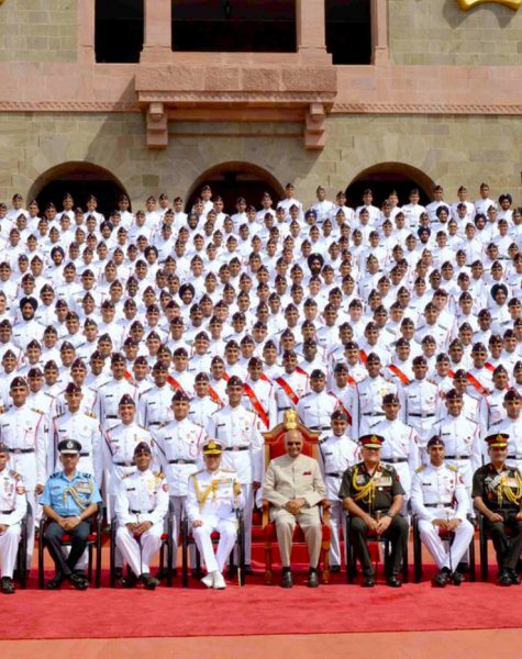 National-Defence-Academy-cadets-with-President-of-India