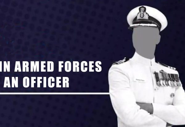 join arm forces as an officer