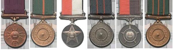 All Gallantry Award Medals
