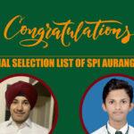 Congratulations for Success in SPI